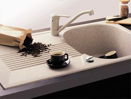 sp le steinoptik tische f r die k che. Black Bedroom Furniture Sets. Home Design Ideas